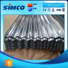 New Product SGCC Assurance Light Weight corrugated sheet metal roofing