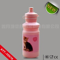 Bulk volume bicycle bpa free printing logos real factory wholesale flask shaped plastic water bottle