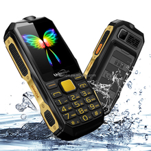 New 2G Unlock GSM Dual 2 Sim Mobile Phone High Power Dust-Proof Water Resistant, Shock Proof Military Fashion Feature Cell Phone