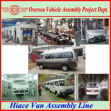 SKD/CKD available with Made in China 12 seats minibus for local assembling