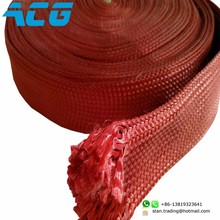 High Temperature Kevlar Roller Sleeve Electric Cable Sleeve