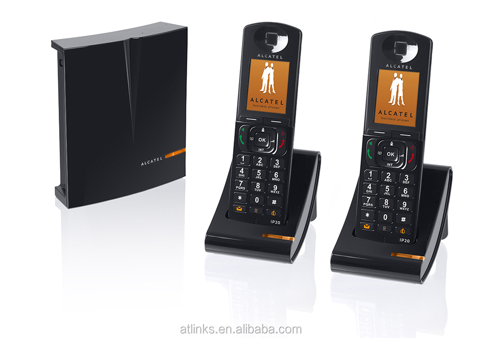 ALCATEL IP1020 DECT VOIP PHONE SYSTEM BUNDLES DUO