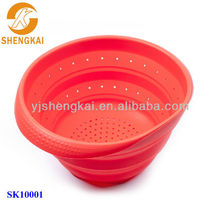 1pc 100% food grade plasitc kitchen storage basket