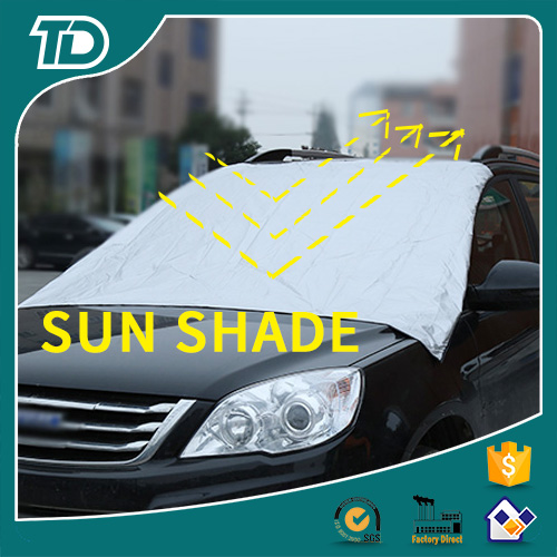 Large size front windshield truck sun shade, sunshade in summer and snow cover in winter