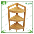 Antique bamboo bathroom & kitchen corner shelf