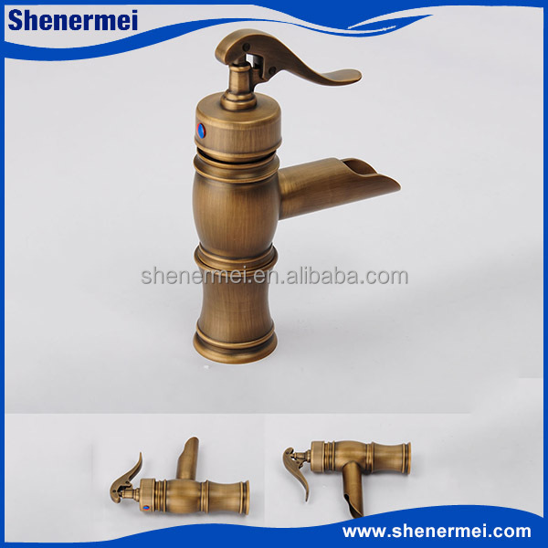 new style antique wash basin taps