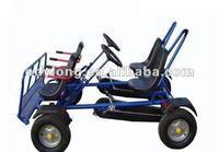 Dual person go car, go-kart/pedal 4 wheels bicycle,surrey bikes F4150