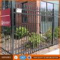 Antique Wrought Iron Fence Panels/Heavy Duty Designs For Steel Fence