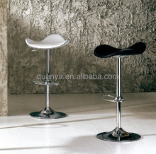 Hot sale fashionable design PVC leather bar stools / bar stool footrest covers