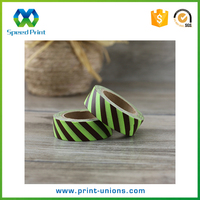 Coffee color printing sticker hot sale decorative cheap masking tape