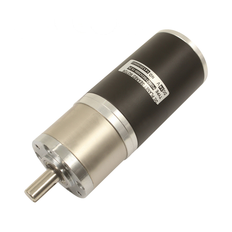 56mm 20N.m high torque 30W 50W 80W planetary 12v 24v dc electric motor with reduction gear
