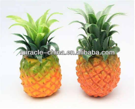 Guangzhou artificial fruits pineapple for display