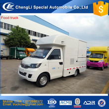 Unique Design New Mobile Food truck export to Dubai mobile kitchen pizza burger Icecream hotdog delivery street food service car