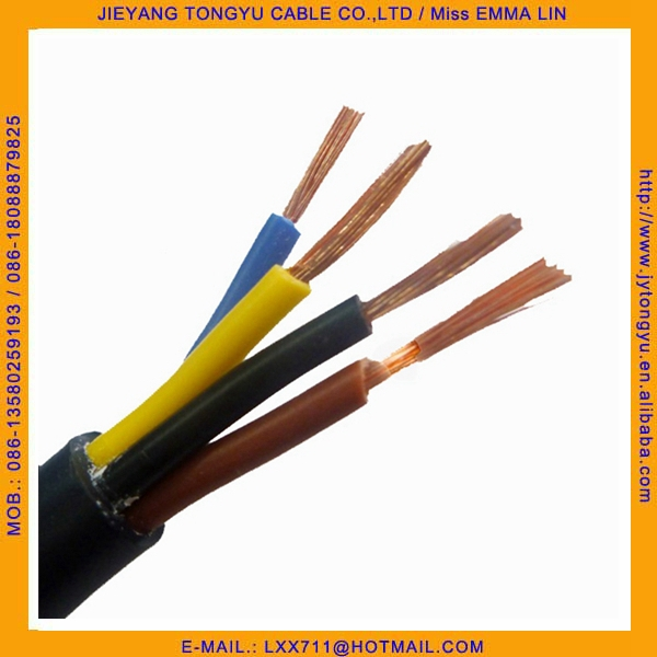 4 Core Cable : Core rvv cable wire mm power buy
