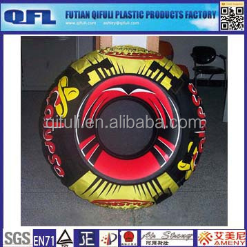 Round inflatable adult boat, pvc float boat seat for pool