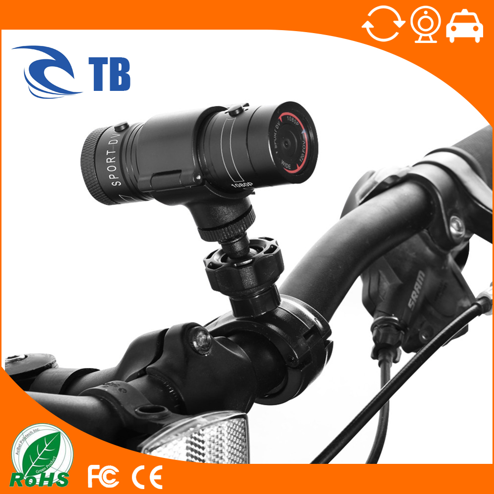 Portable Full HD Sport DV Camera 1080P Waterproof Bike Car Bicycle Outdoor Sports DV Video Camera
