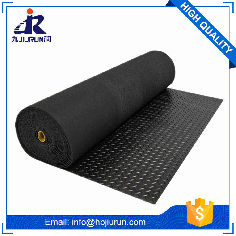 China factory wholesale anti slip diamond/ checker mat rubber sheet