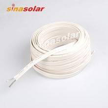 flat solar cable flexible solar panel cable sunpower solar panel cable