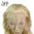 Cheap Affordable 100 Natural Real Human Hair Toppers Blonde Virgin Hair Wigs