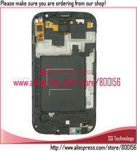 LCD Screen for Samsung for Galaxy Grand DUOS i9082 Touch Screen Assembly with Frame white color