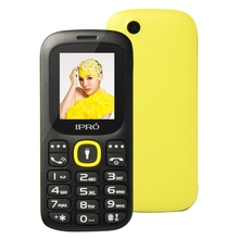 Factory direct supplier IPRO I3185 1.77 inch 2g feature phone Cheap Black And White Cell Phones 800 mAh MP3 MP4 torch in stock