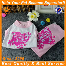 fashion luxury pretty hot sale dog apparel pet clothes for dogs