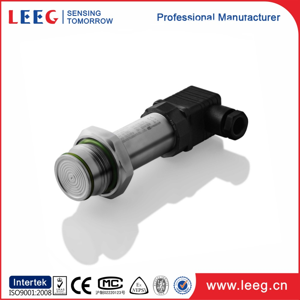 Silicon Oil-fil Piezo-resistive core 4-20ma pressure transmitter for sanitary