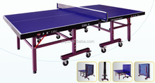 Single Folding Legs For Table Tennis Table,2015 Ping-Pong Table Tennis Dimension,Foldable Table Tennis Sports For Sale