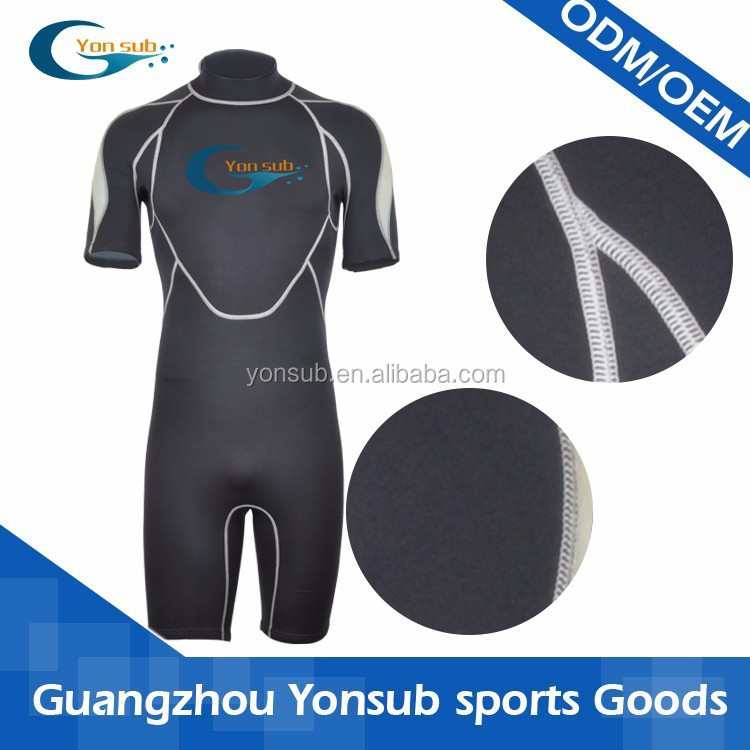 short pant and sleeve wet suit for men