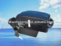 Frog case 24v lithium battery for electric bike