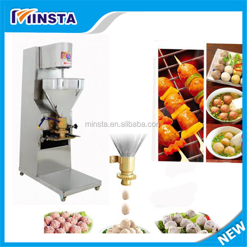 Wholesale products commercial stuffed meatball making machine , Fish chicken beef meatball machine