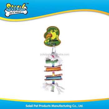 Pet supplier/BIRD TOY/ Wooden Bird Toy Y0041