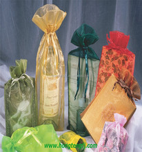 organza cosmetic bag, organza wine bottle bag