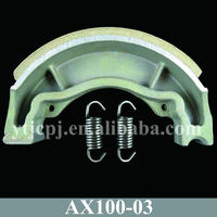 Jincheng Motorcycle Parts AX100 Brake Shoe