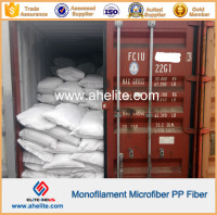 Polypropylene Monofilament Fiber Made of Virgin Homopolymer Polypropylene