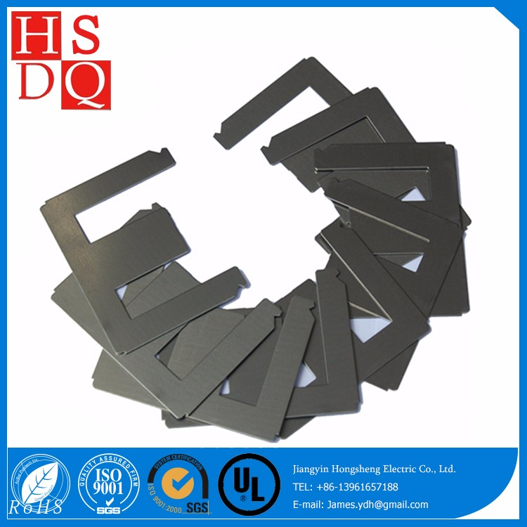 Prime Quality Silicon Steel EI Lamination Transformer Cores