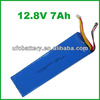 LFP Battery 4s 12.8v 7Ah LiFePO4 Battery Lithium Iron Phosphate Rechargeble Battery For Solar System