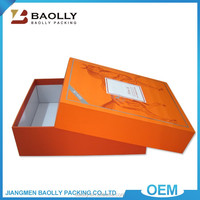 Alibaba China Customized Printed Cardboard Packaging Gift Boxes For Clothing