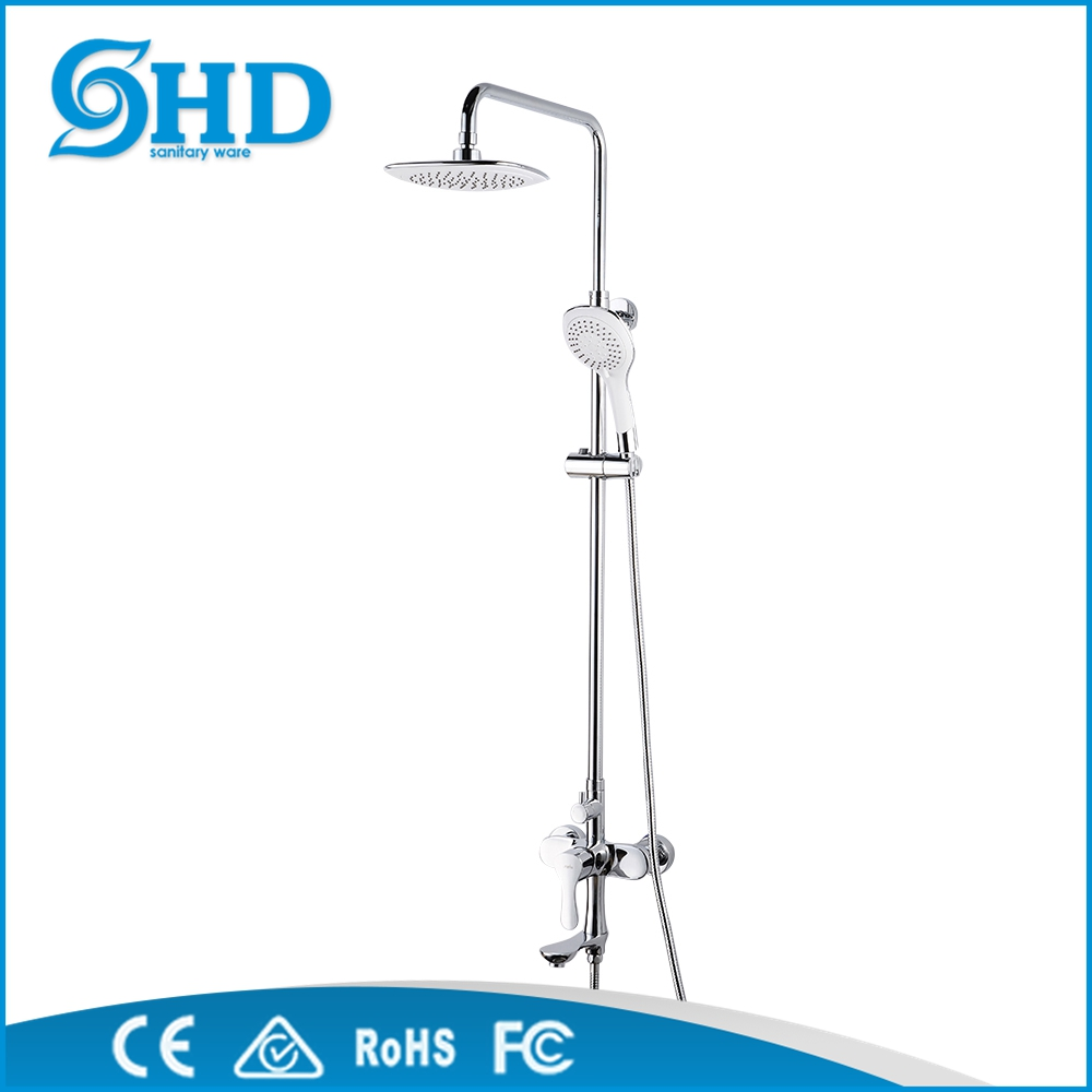factory wholesale big shower faucet with bathroom fittings