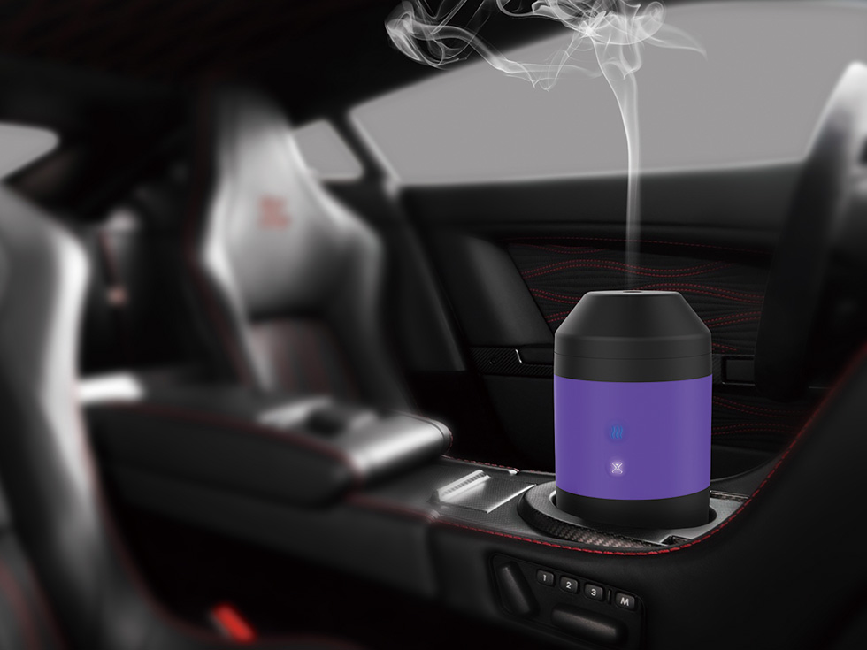 Customized Ultrasonic Car Aroma Air-management Humidifier/Car Aroma Diffuser/Car Diffuser