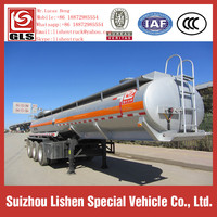 Stainless Steel 3 Axles Semi Trailer
