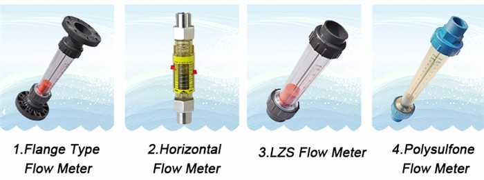 Low Cost Transparent Water Flow Sensor/ Water Rotameter