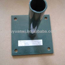 stainless steel ground pole plate with good quality and factory price