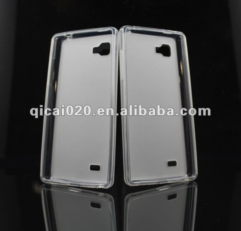 Crystal Clear Pudding case for LG P880/Optimus 4X HD