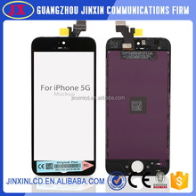 Original LCD screen for iPhone 5, for iPhone 5 LCD screen assembly, for apple iPhone 5 LCD digitizer