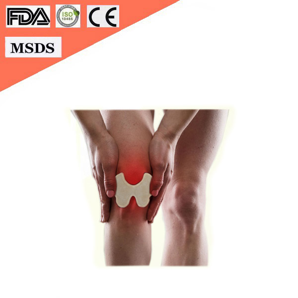 New Style 8 Hours Air Activated Invisible Knee Self Heating Pain Relief Patch