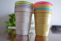 200ml Colorful Disposable Tumbler / disposable colorful plastic cups/PP cups