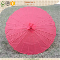 Colorful Bamboo Paper Parasol Wedding Decoration