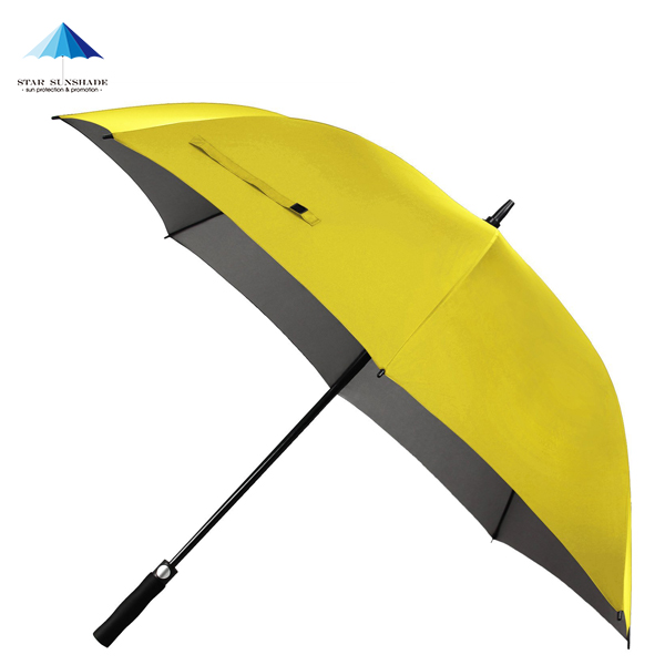 54/60/64/68 inch Windproof Large Yellow Golf Umbrella Classic & UV Protection Version Sunproof Extra Large Stick Umbrellas Golf