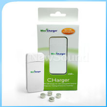 Portable USB Hearing Aid Battery Charger for Size 13A